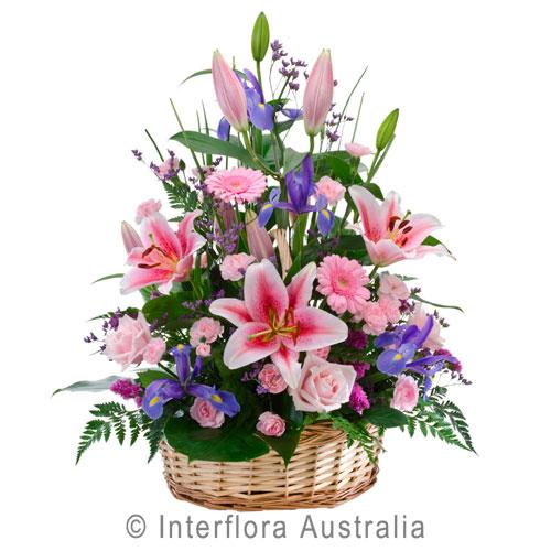 large basket arrangement ..$130
