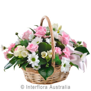 small basket arrangement..$50